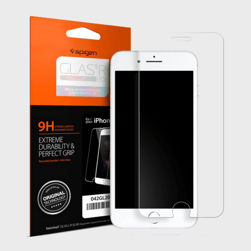 Spigen iPhone 7 Screen Protector GLAS.tR SLIM HD price in Qatar