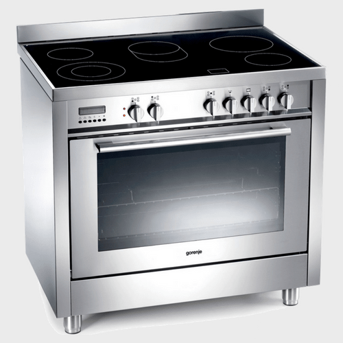 Gorenje Electric Cooking Range ECP97393AX 90x60 5Burner price in Qatar