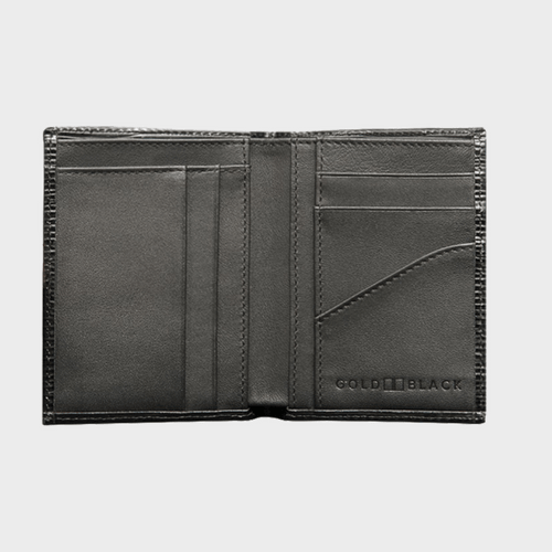 Goldblack Bifold Slim Wallet Unico Black price in Qatar souq