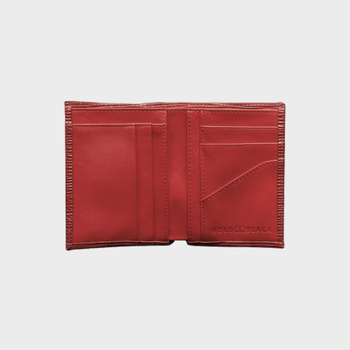 Goldblack Bifold Slim Wallet Unico Red price in Qatar souq