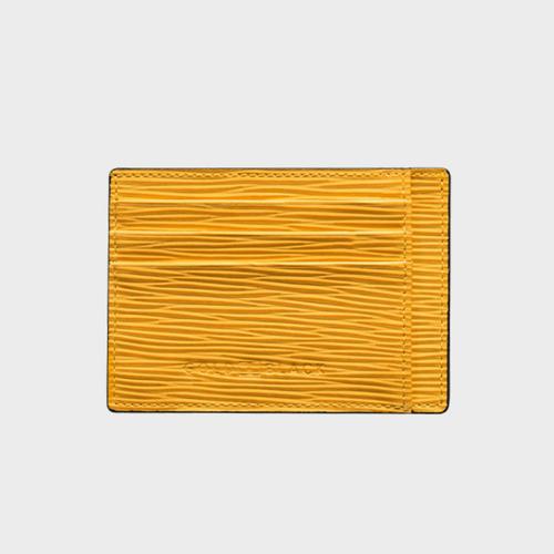 Goldblack Card Holder Bill Unico Yellow price in Qatar