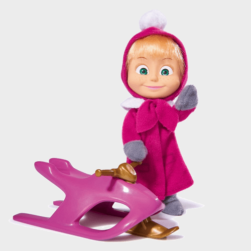 Masha And The Bear - Masha Snowbob Fun 109301681 price in Qatar