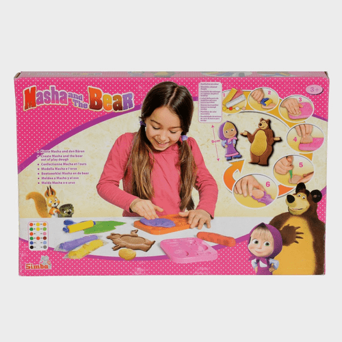 Masha And The Bear - Masha Dough Set 109302549 Price in Qatar