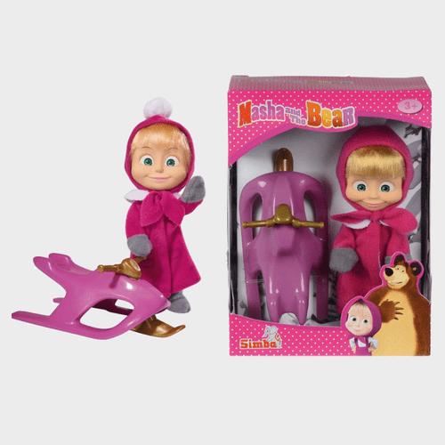 Masha And The Bear - Masha Snowbob Fun 109301681 price in Qatar lulu