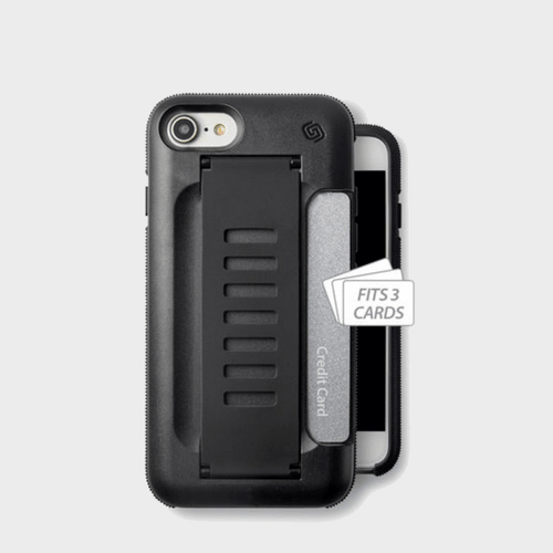 Grip2U iPhone 8 BOSS Charcoal price in Qatar