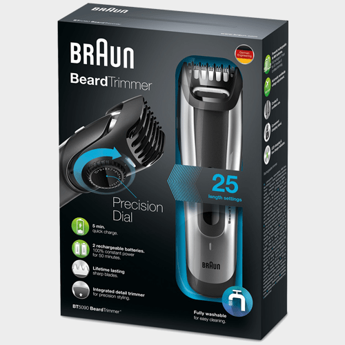 Braun Beard Trimmer BT5090 price in qatar souq