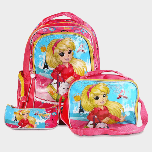 Smart Backpack 3Pc Set Price in Qatar