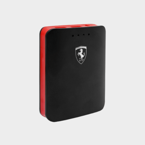 Ferrari Powerbank 10400mAh Dual USB 3A with Flashlight Price in Qatar