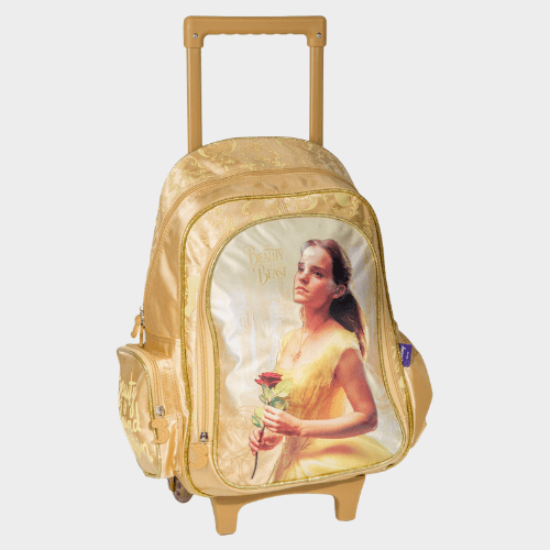 Beauty and the Best School Trolley Bag FK100132 Price in Qatar