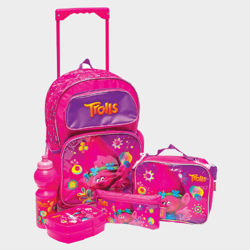 Trolls School Trolley Value Pack Set of 5Pcs FK160528 Price in Qatar