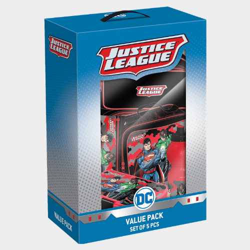 Justice League School Trolley Value Pack Set of 5Pcs FK160532 Price in Qatar