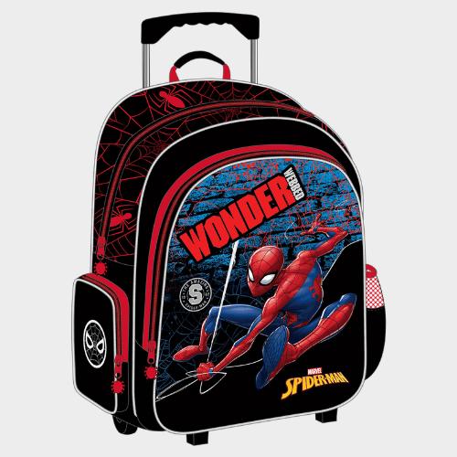 Spider-Man School Trolley Bag FK160390 Price in Qatar