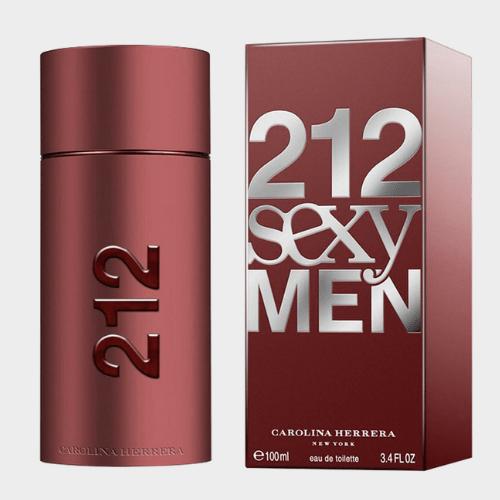 Carolina Herrera EDT 212 Sexy Men 100 Ml price in Qatar lulu