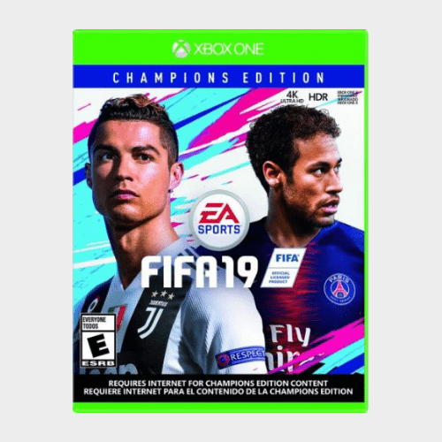 FIFA 19 Champions Edition XBox One USA price in qatar