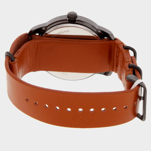 Giordano Men's Analog Watch Brown Strap With Grey Dial 1791-00 price in Qatar lulu