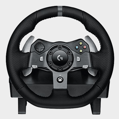 Logitech G920 Driving Force Racing Wheel for Xbox One and PC price in Qatar souq