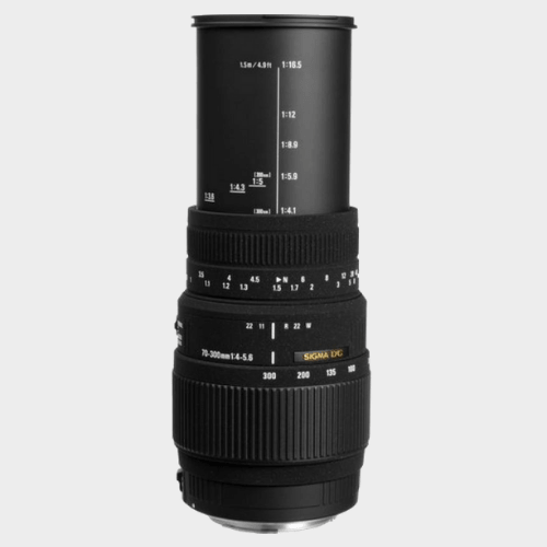Sigma 70 - 300 mm F4-5.6 DG Macro Lens price in Qatar souq