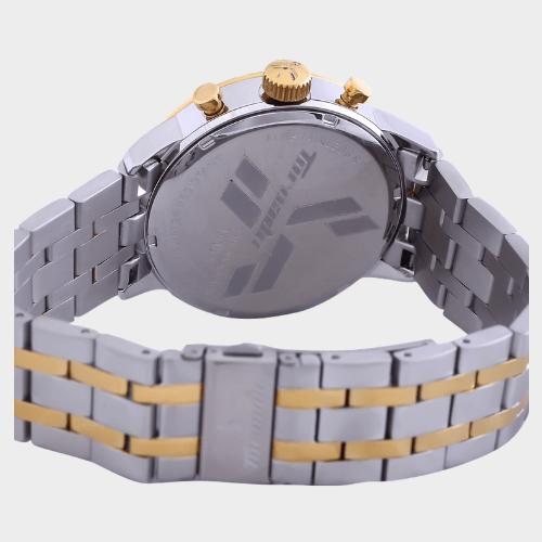 Tornado Men's Chronograph Watch Silver Dial Stainless Steel Band T6102-GBTSG price in Qatar souq