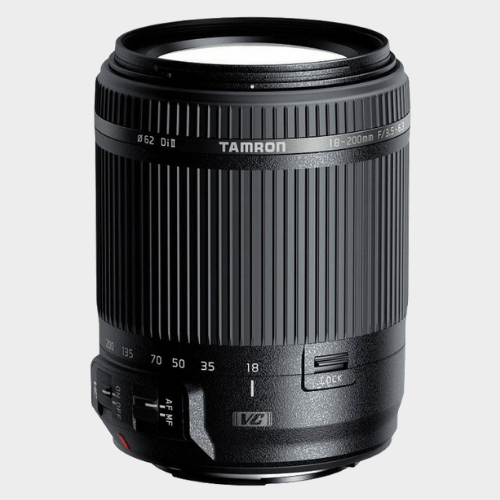 Tamron B018 18 - 200 mm F/3.5 - 6.3 Di II VC Lens For Nikon DSLR Camera Lens price in Qatar