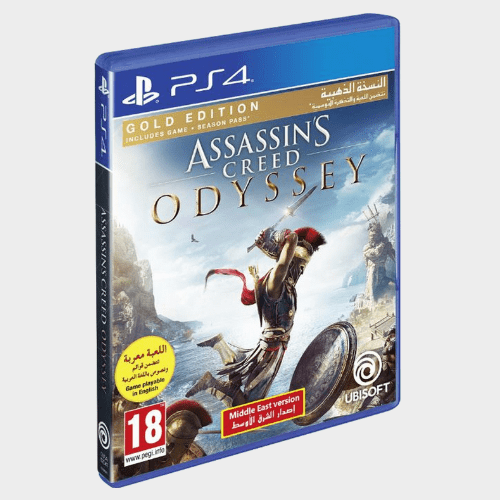 PS4 Assassins Creed Odyssey Gold Steel Book Edition price in Qatar