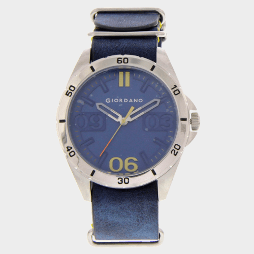 Giordano Men's Analog Watch Blue Strap With Blue Dial 1783-02 price in Qatar