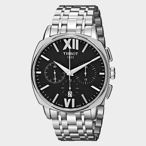 Tissot Veloci-T Swiss Automatic Silver Men's Watch T0595271105800 Price in Qatar