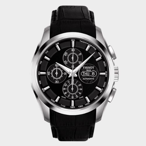 Tissot Couturier Chronograph Men's Watch T0356141605100 Price in Qatar