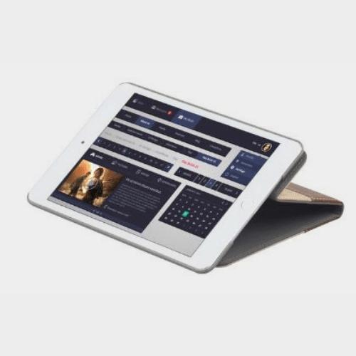 Promate Valdo Mini 4 Premium Case For iPad Minin 4 Khaki Price in Qatar jazp