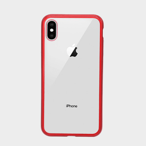 the latest 540dc fa37e Bluemax Leisurto 360 degree Magnetic Case for Iphone XS Max Red