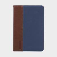 Promate Valdo iPad Mini 4 Premium Fabric Folio Case Blue Price in Qatar