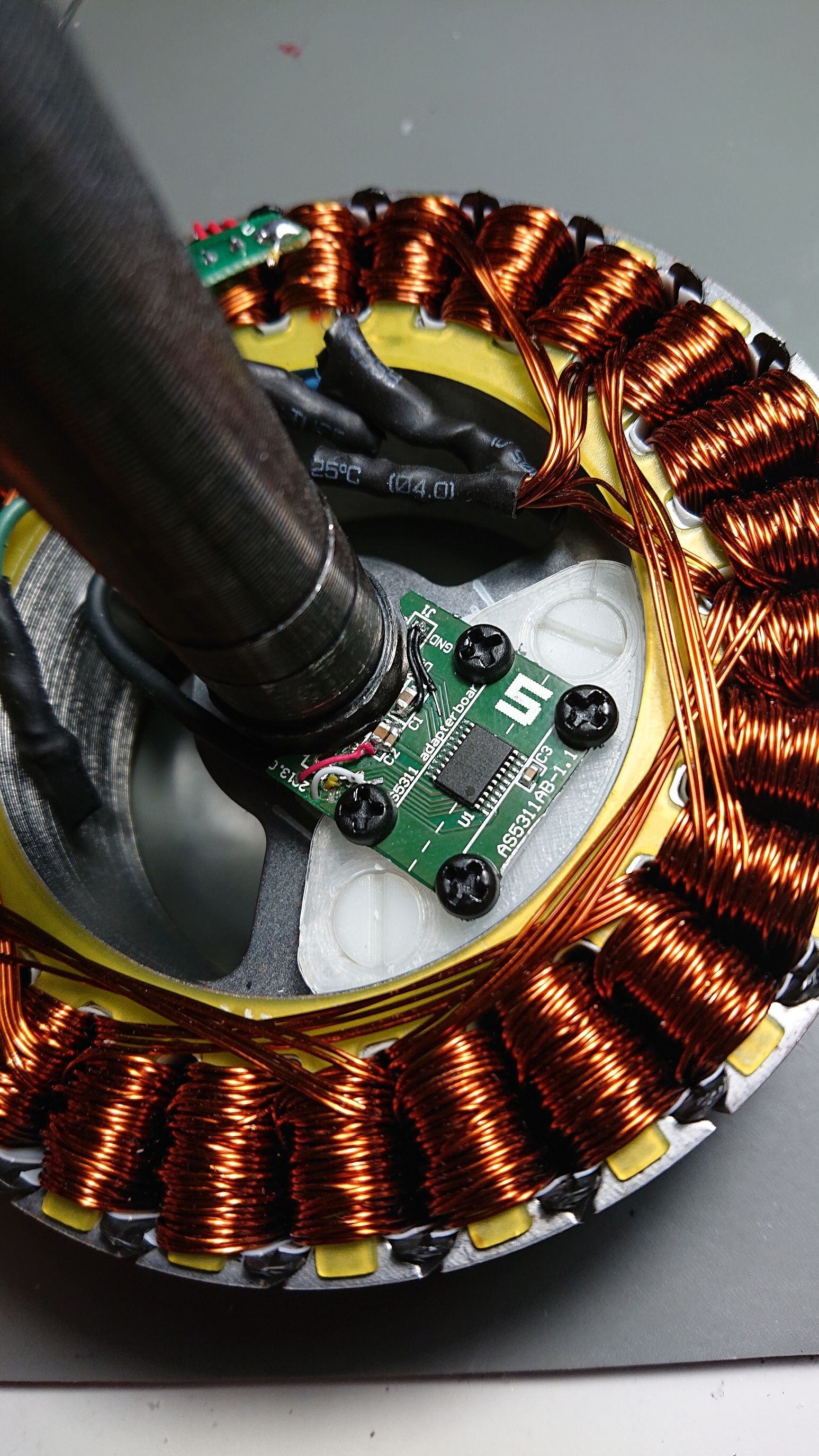 Hoverboard Motor With Built In Encoder