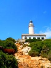 Formentor lighthouse in Mallorca, Spain