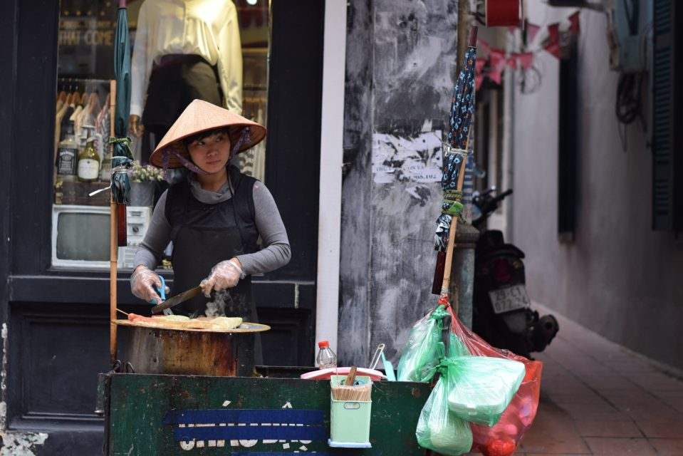 Eating street food is a great way to save money on food while travelling