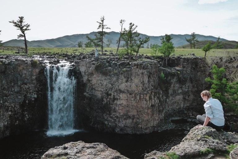 Orkhon Valley Khukree Waterfalls