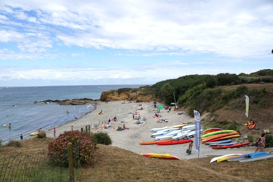 Port Mélite Beach on the island of Groix is perfect for families