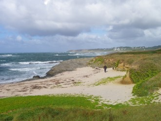 One of the beaches at Porh Morvil on the island of Groix