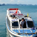 [News] New Speedboat Service launched to visit Minh Chau