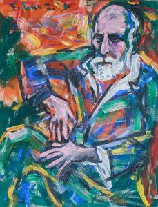 Alexandre Yersin Painting by Pham Luc