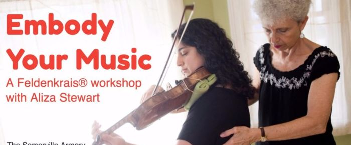 Embody Your Music: A Feldenkrais workshop for musicians with Aliza Stewart, GCFP