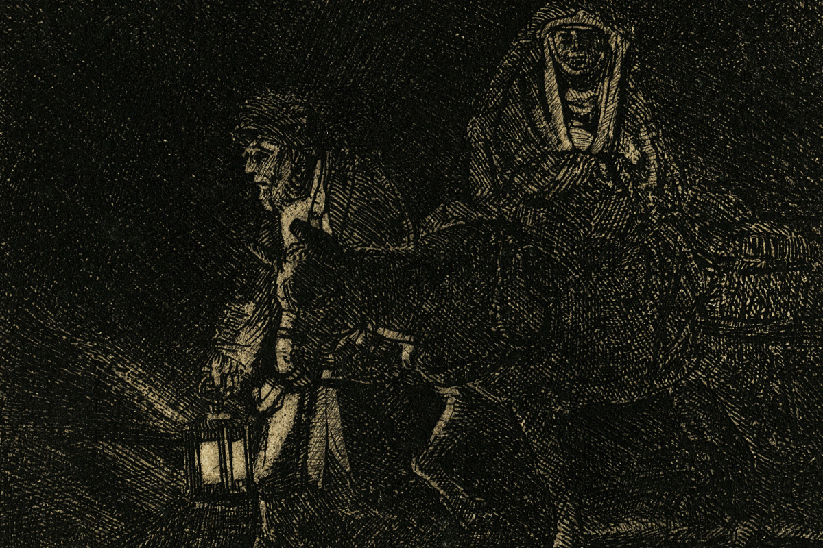 Rembrandt-Etching-The-Flight-Into-Egypt-Night-Piece