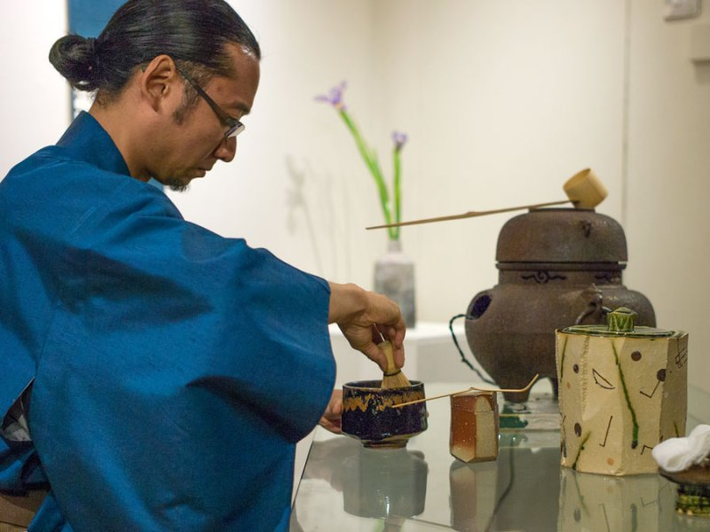 Events | 10 Japanese Potters and a Tea Ceremony | 19/7/14
