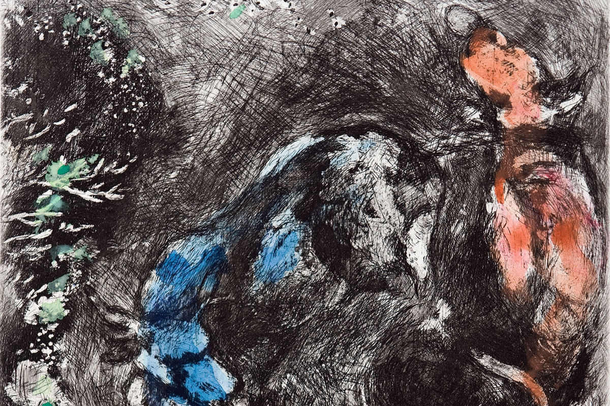 Chagall-Fables-two-bulls-frog