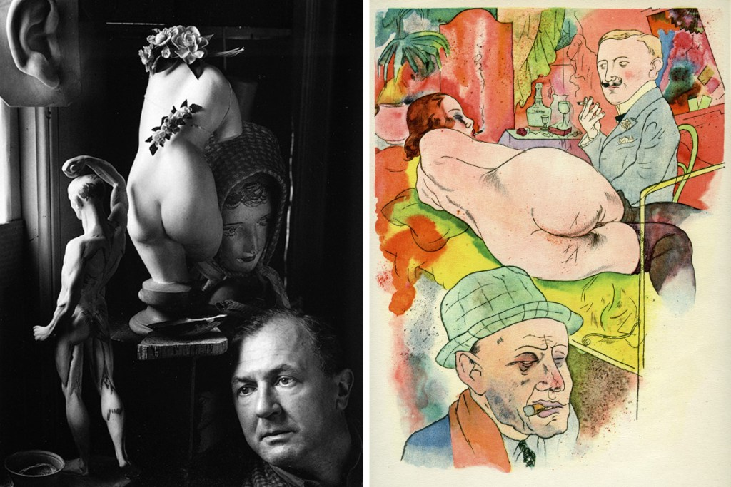 george-grosz-photograph-ecce-homo-self-portrait