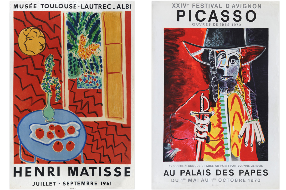 Artists-Posters-Matisse-Picasso-Pair