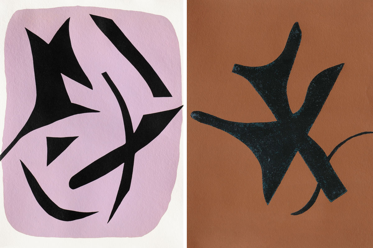 Georges-Braque-Si-Je-Mourais-La-Bas-Abstract-Pair