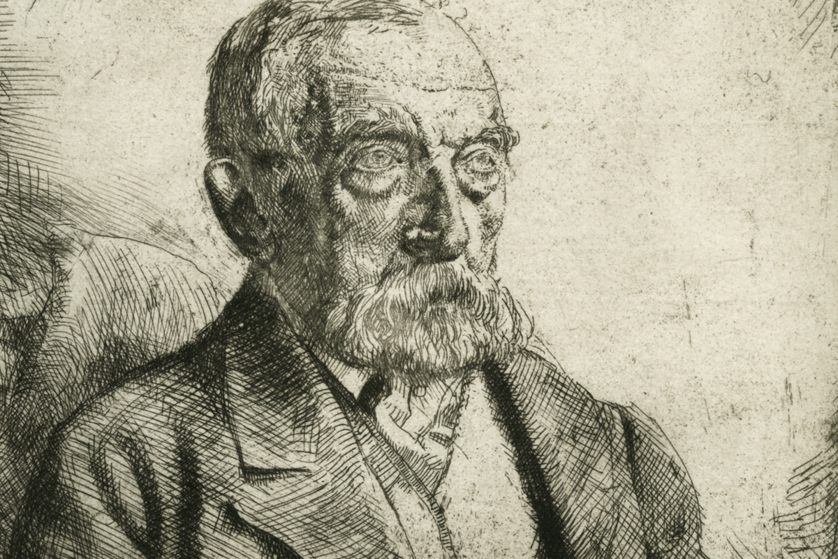 Augustus-John-The-Old-Haberdasher-Etching