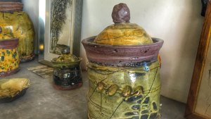 Large Lidded Jar