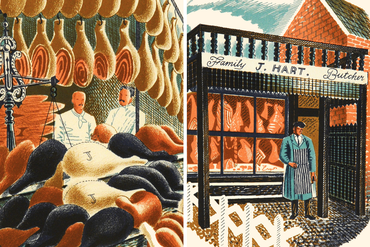 Eric-Ravilious-Hams-and-Butchers
