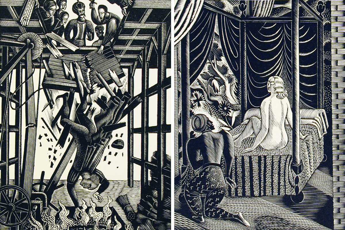 Eric-Ravilious-More-Illustrations-to-The-Jew-of-Malta-1