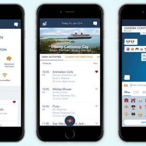 Check out the new Disney Cruise Line App!